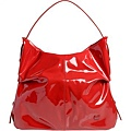 紅色漆皮包