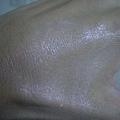 GA 調光師美肌妝前乳  尚未完全推勻的狀況