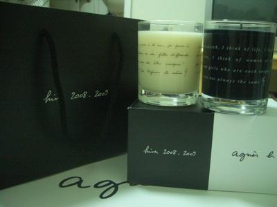 agnes b. 香氛蠟燭