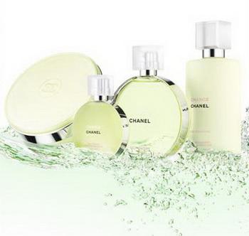 香奈兒CHANCE綠色氣息版香氛新品