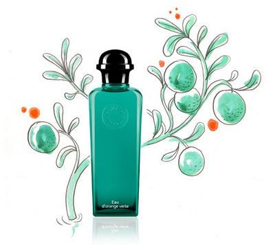 橙綠之泉中性香水
