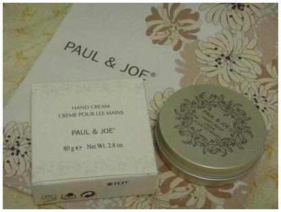 PAUL&JOE橙花護手霜