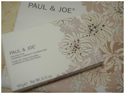 Paul&Joe 糖紗吻膚防曬粉餅