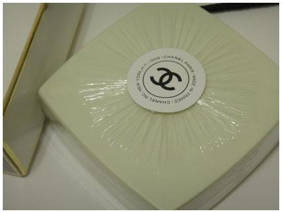 CHANEL NO.19香水皂
