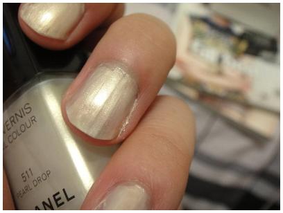 CHANEL #511白珍珠