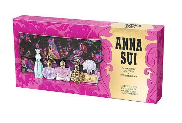 ANNA SUI 歡樂派對迷你小香禮盒原價各NT$2,400元特價NT$990元(下殺41折)
