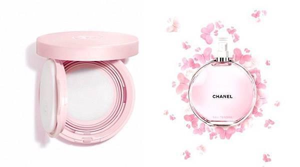 粉色气垫装的竟是香水?CHANEL推出第1款限量粉红甜蜜香水气垫(香调、价目)