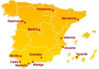 enforex_spain_map