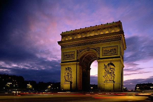 Eurocentres Paris 巴黎 凱旋門