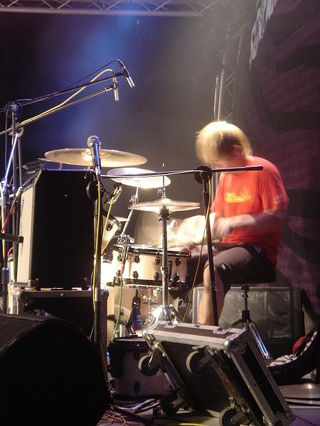 鼓手~總是默默付出的在後頭