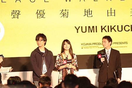 《潛龍諜影:和平先驅》總監小島秀夫與聲優菊地由美DSCF1737.JPG