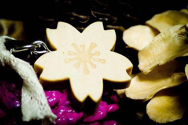 仔細一看,小櫻花上面有小雪花耶!