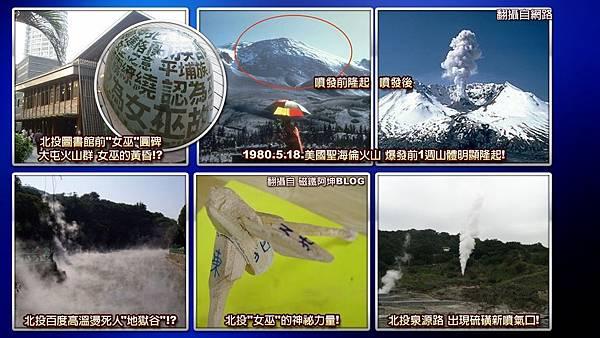 大屯火山爆發