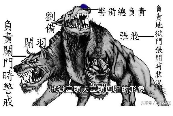 三頭犬劉關張.jpg
