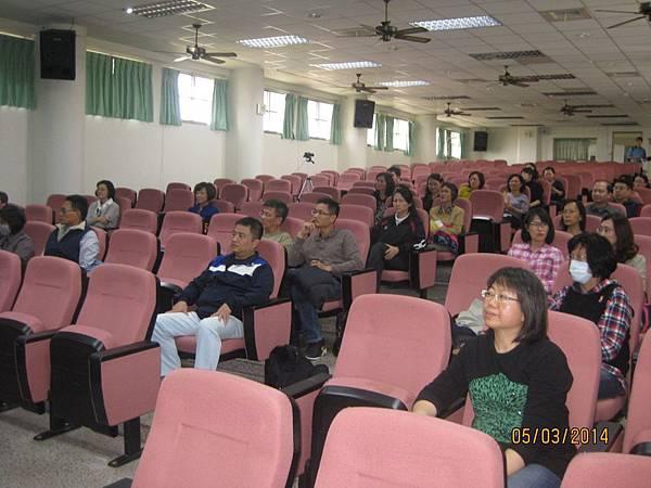 講座期間敬世龍校長全程參與,參與來賓共五十人