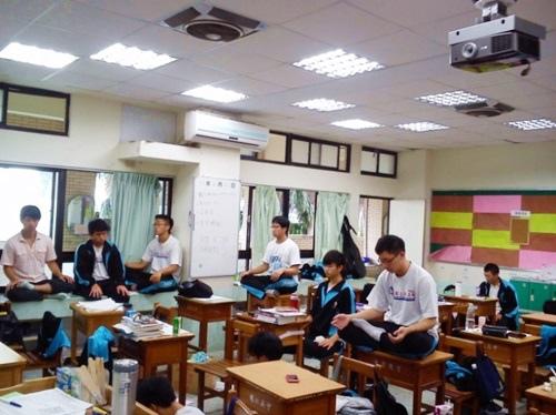 禪定體驗 in 九九課綱『生命教育』-03