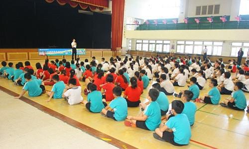 嘉義市崇文國小率先於新學期的伊始實施校園晨間禪坐