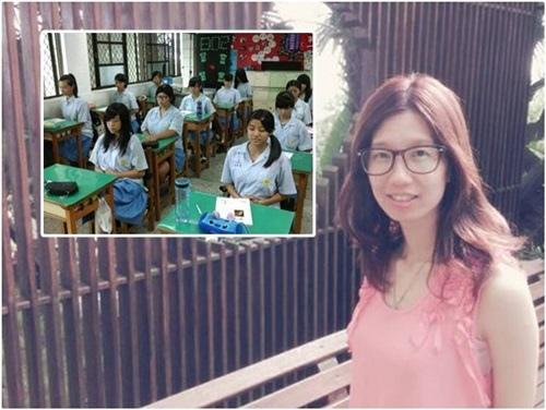 玫竹老師在教書的過程常訓練孩子的專注力及定力,更重視品格教育的養成