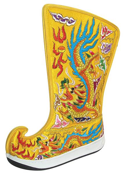 客製化訂製鞋-龍鳳鞋01