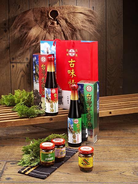 台灣老醬油組 一組是新台幣550