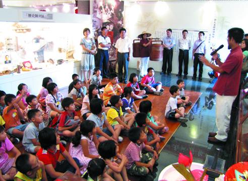 楊梅博物館糕餅文化解說