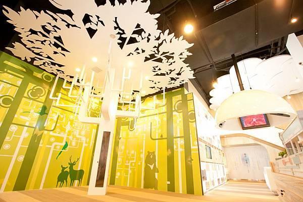 綠標生活館內部-能量樹