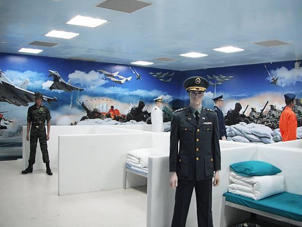 參訪路線8-2(國防三軍用品展示間)