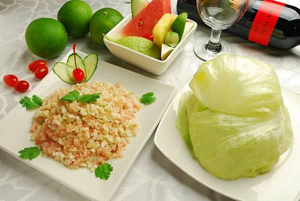生菜鮮蝦鬆