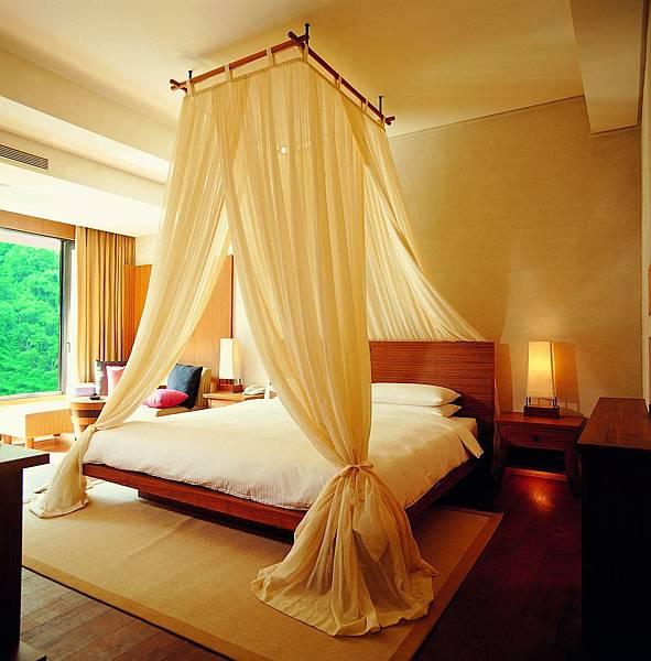 山水客房-臥室