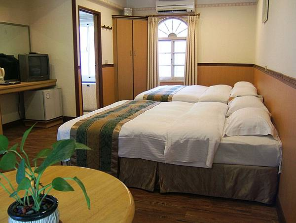 木屋雙床房