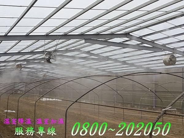 溫室植栽噴霧