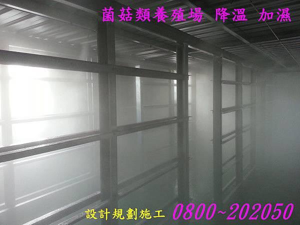 無土培養室自動加濕
