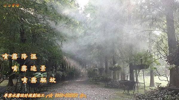 水霧造景園藝