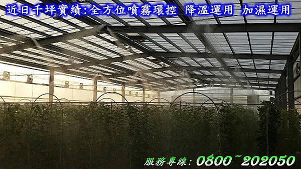 植物工廠噴霧設備