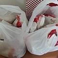 早安美之城捐贈漢堡x15個