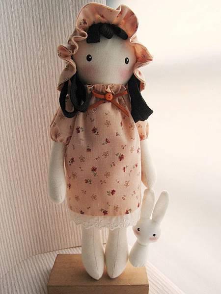 9號粉橘鄉村娃娃(2)