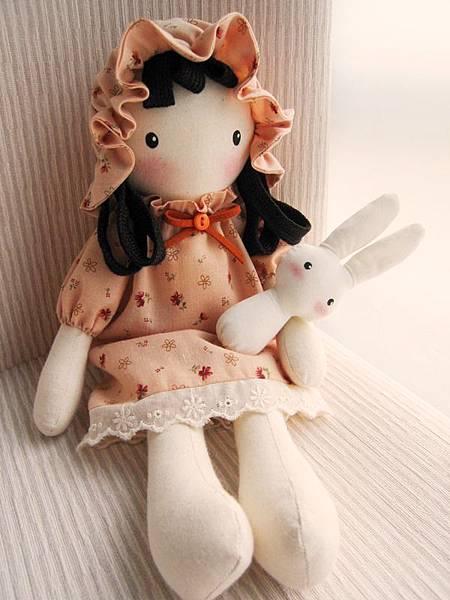 9號粉橘鄉村娃娃(5)