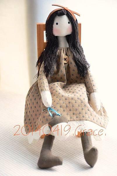 手作娃娃24號潘妮Penny (4)