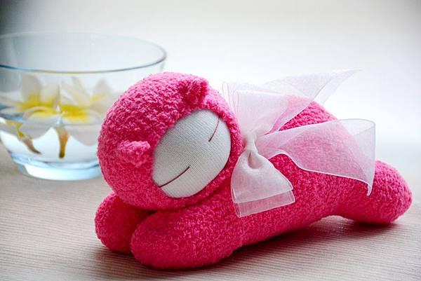 襪子娃娃118號桃紅小惡魔 (4)