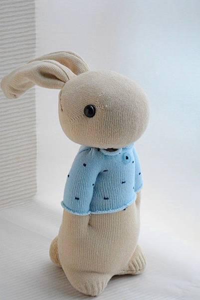 134號襪子娃娃之小確幸暖男兔 (1)