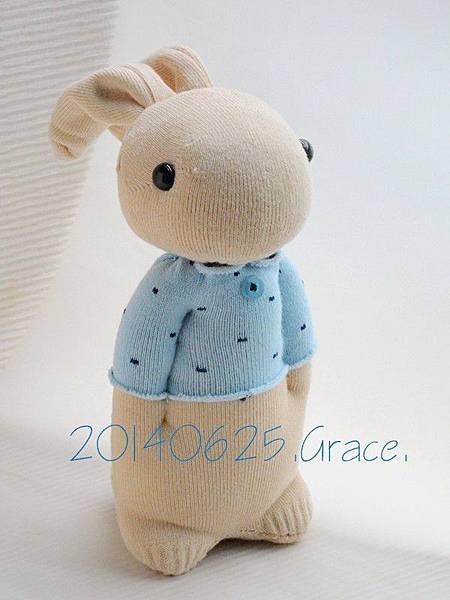 134號襪子娃娃之小確幸暖男兔 (3)