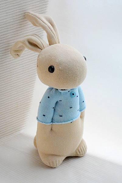 134號襪子娃娃之小確幸暖男兔 (4)