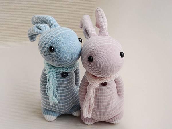 襪子娃娃136+137號之情人兔 (3)