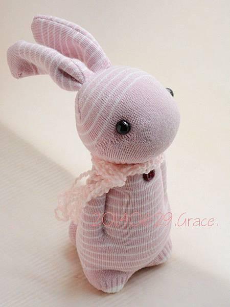 襪子娃娃136號之情人美女兔 (1)