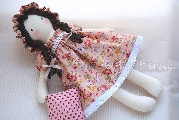 26號手作娃娃安琪兒(4)