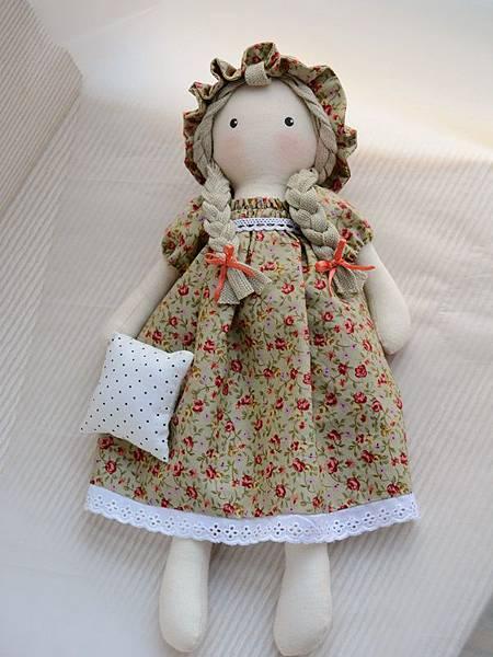 30號手作娃娃櫻桃小玫瑰 (1)