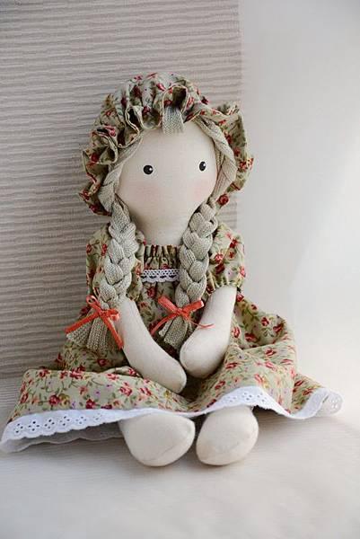 30號手作娃娃櫻桃小玫瑰 (4)