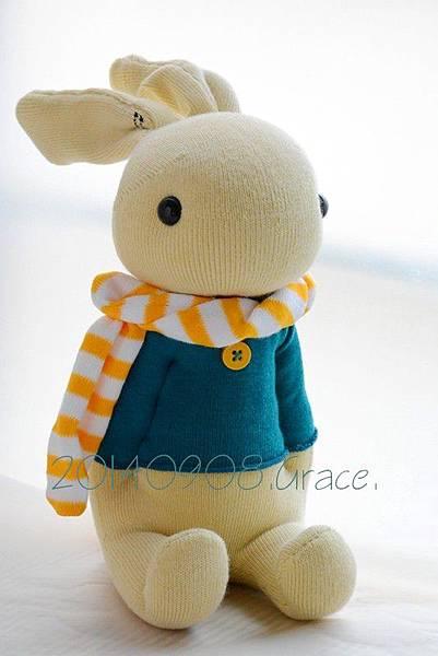 襪子娃娃151號羅比兔 (6)