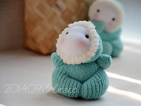襪子娃娃152+153號之小北鼻 (2)1