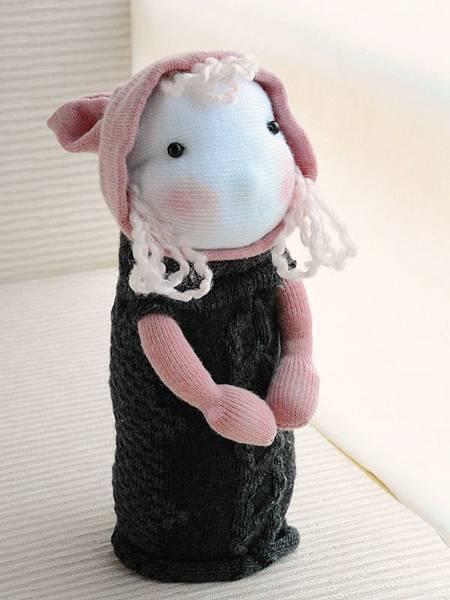 襪子娃娃154號之鄉村小姑娘 (1)